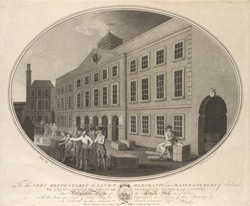 Perspective View of the Linen Hall in Dublin